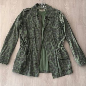 Urban Outfitters- Green Utility Jacket- SZ XS